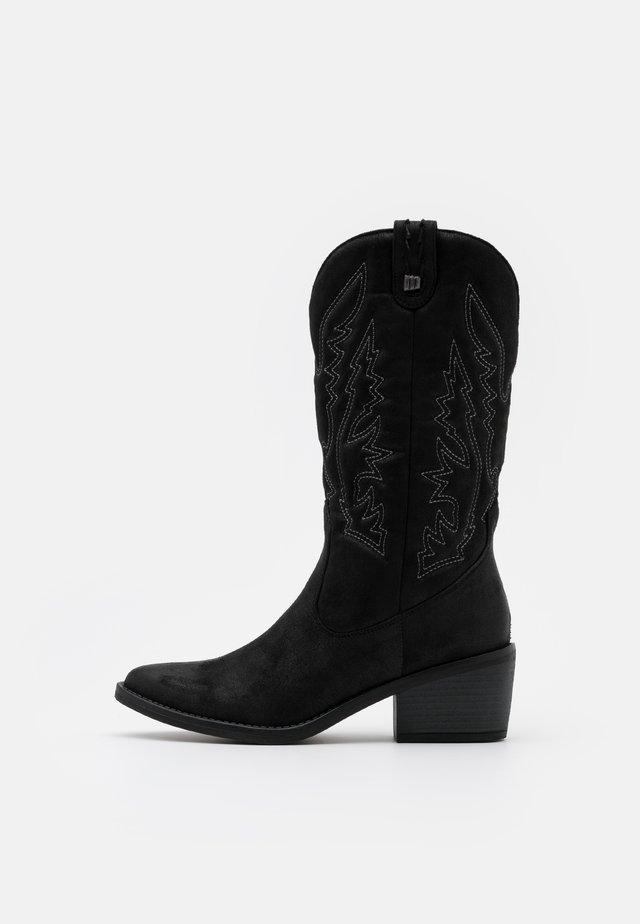 TANUBIS - Cowboy/Biker boots - black