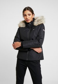 Tommy Jeans - HOODED JACKET - Down jacket - black - 0