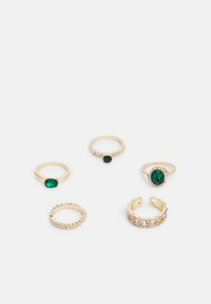 CROHATLAN 5 PACK - Ring - gold-coloured