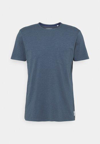 Basic T-shirt - grayish petrol