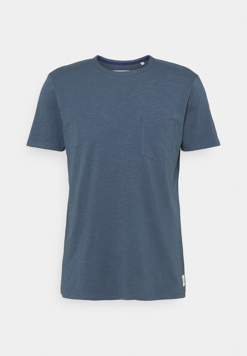 Marc O'Polo DENIM - Basic T-shirt - grayish petrol