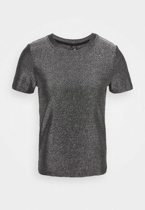VMADALYN GLITTER - T-shirts med print - black/silver