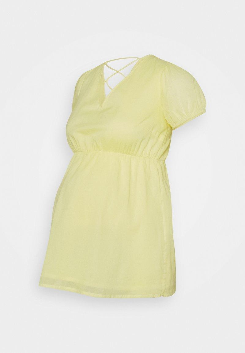 MAMALICIOUS - MLVIGGA  - T-shirts med print - elfin yellow