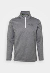 Puma Golf - FIRST MILE FLASH ZIP - Sweatshirt - quiet shade heather - 0