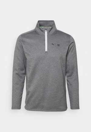 FIRST MILE FLASH ZIP - Sweatshirt - quiet shade heather