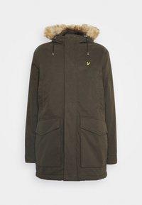 WINTER WEIGHT - Winter coat - trek green