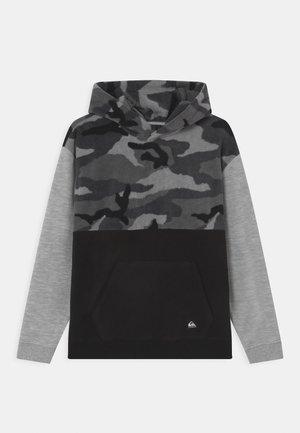 ESSENTIALS POLAR HOOD YOUTH - Sweatshirt - black