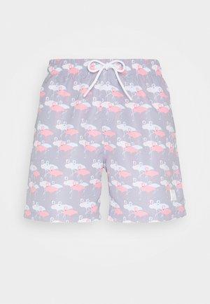 Swimming shorts - flamingo