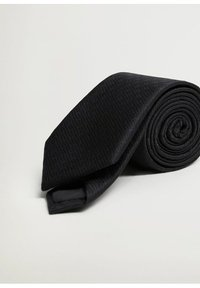 Mango - BASIC7 - Cravatta - noir - 1