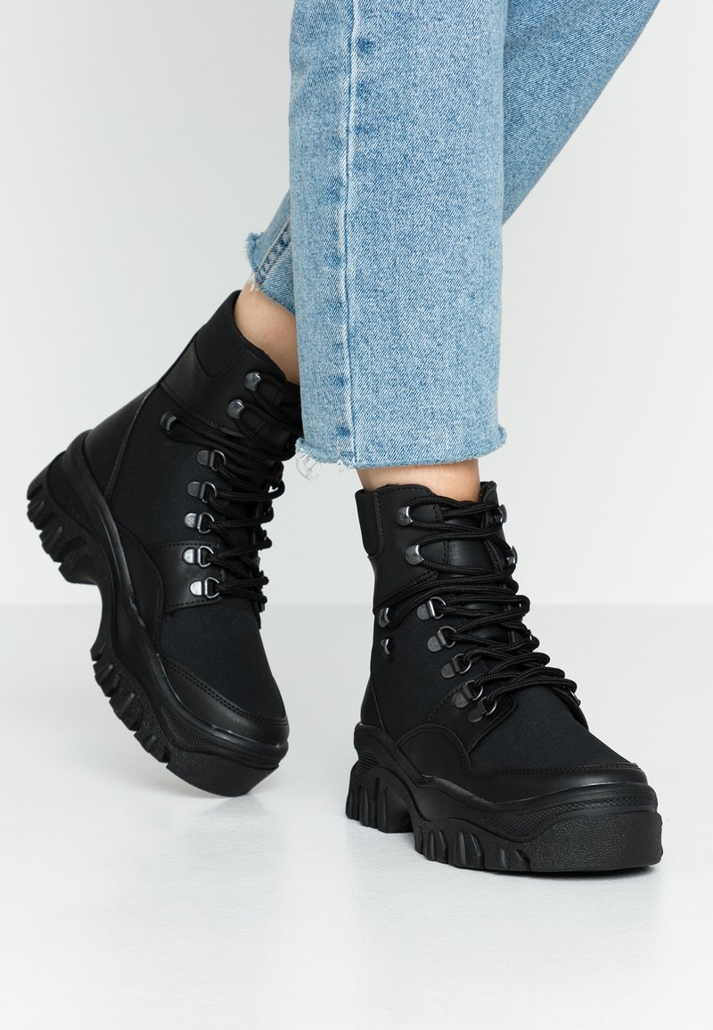 Nly by Nelly - TRUE LOVE - Ankelboots - black