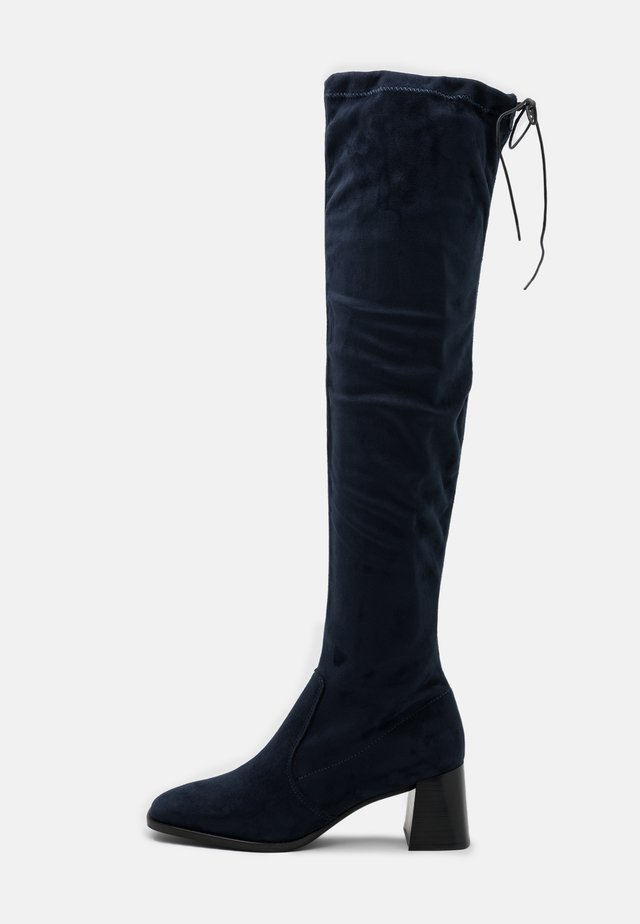 Over-the-knee boots - blu