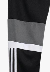 adidas Performance - Teplákové kalhoty - black/grefou/white - 3