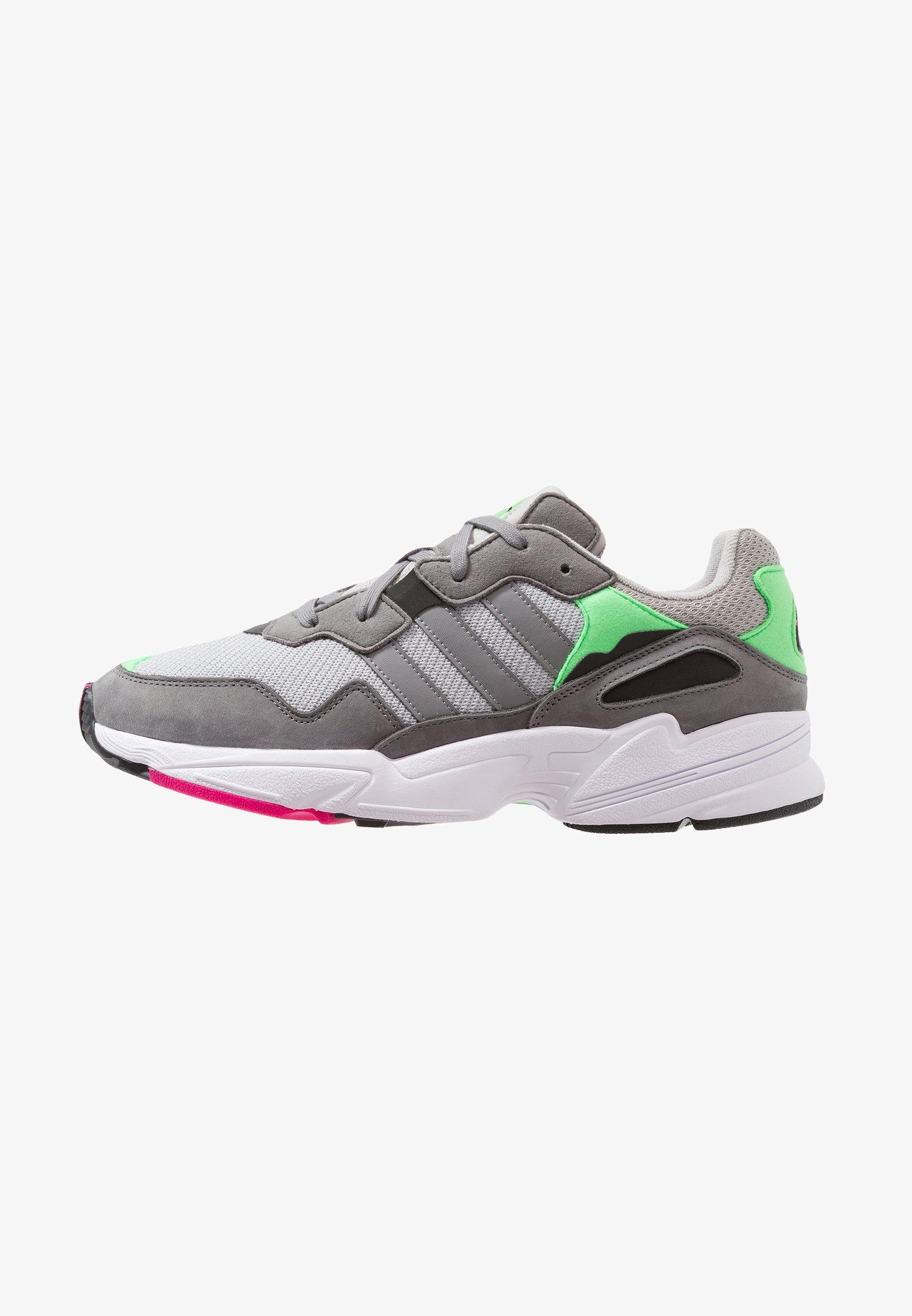 basura Ostentoso Acostumbrados a  adidas Originals YUNG-96 - Trainers - grey two/grey three/shock pink/white  - Zalando.ie