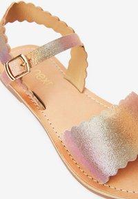 Next - PINK LEATHER SCALLOPED SANDALS (OLDER) - Sandals - multi-coloured - 3