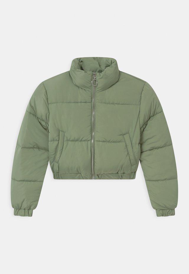 SOFT PUFFER - Übergangsjacke - green