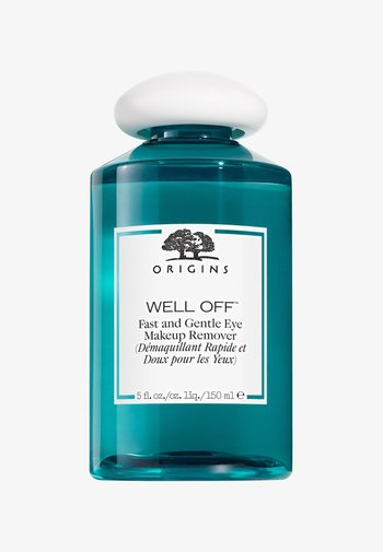 WELL OFF FAST AND GENTLE EYE MAKEUP REMOVER - Eye makeup remover - -