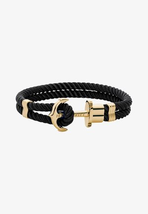PHREP  - Armband - schwarz gold