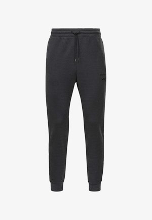 TRAINING ESSENTIALS MÉLANGE JOGGERS - Träningsbyxor - black