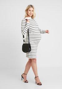 Ripe - GRID DRESS - Fodralklänning - white/black - 1