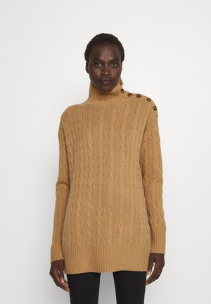 CLASSIC LONG SLEEVE - Sweter - camel