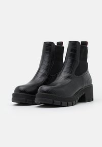 Buffalo - MARLOW - Platform ankle boots - black - 2