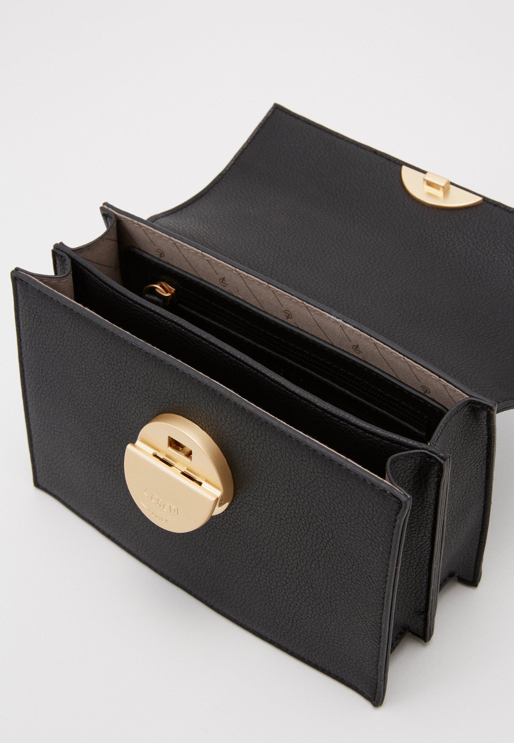 Latest Discount Outlet L.Credi FABRIZIA - Across body bag - schwarz   women's accessories 2020 opnlX