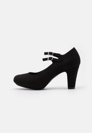 Escarpins à plateforme - black