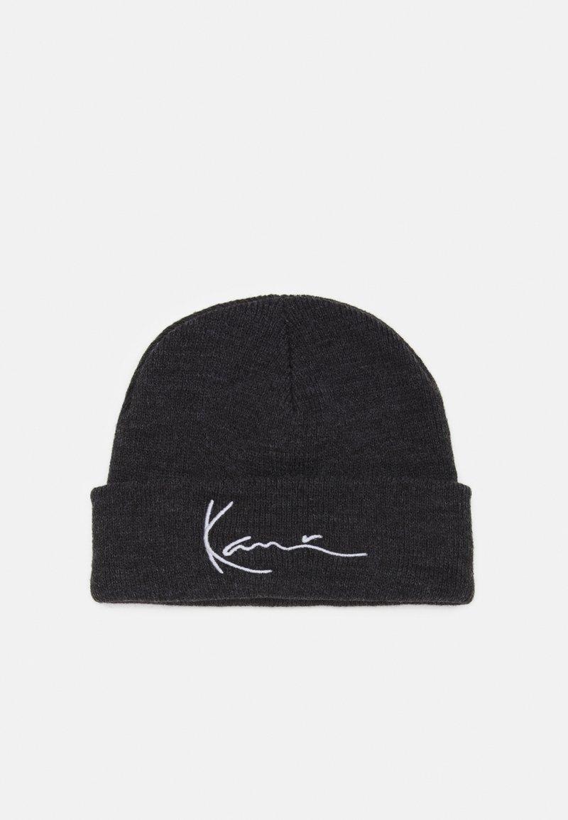 Karl Kani - SIGNATURE FISHERMAN BEANIE UNISEX - Beanie - dark grey