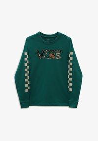 Vans - WM MONTAUK CLASSIC CHECK BFF LS - Sweatshirt - alpine green - 0