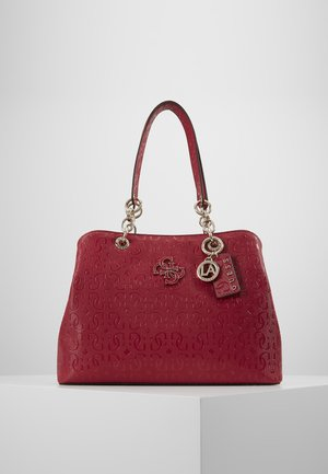 CHIC SHINE - Handbag - berry