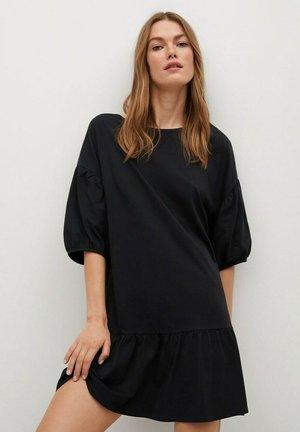 Robe en jersey - zwart