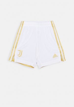 JUVENTUS AEROREADY SPORTS FOOTBALL 1/4 SHORTS - Sports shorts - white/pyrite