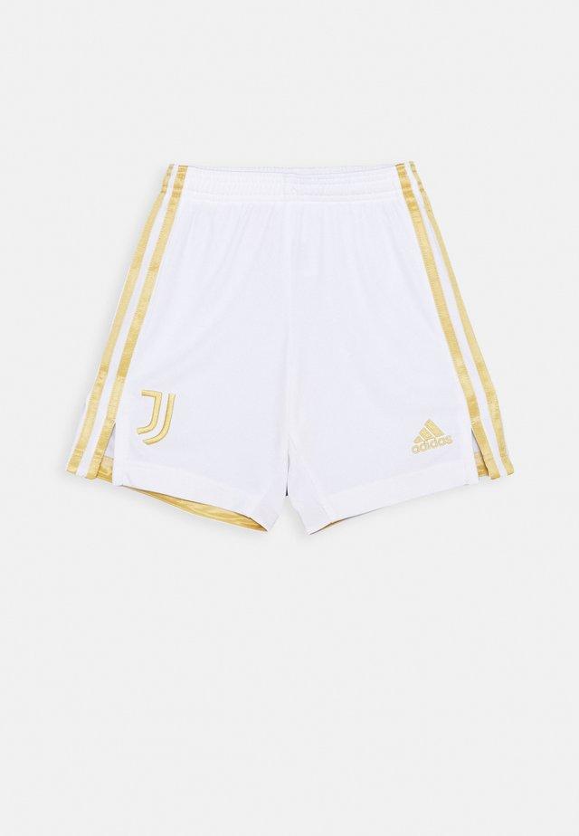 JUVENTUS AEROREADY SPORTS FOOTBALL 1/4 SHORTS - Sports shorts - white/pyrite
