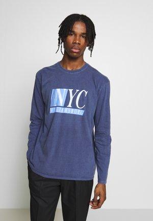 TEE - Långärmad tröja - mid blue