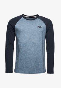 Superdry - Long sleeved top - azure tois mega grit - 2