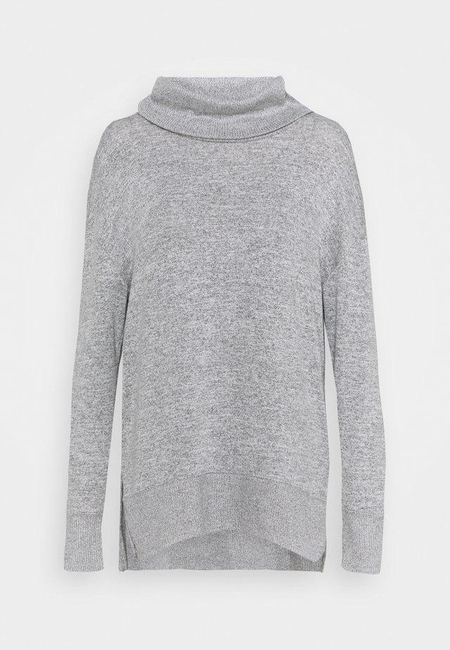 COWL - Sweter - heather grey