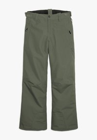 Brunotti - FOOTSTRAP BOYSSNOWPANTS - Talvihousut - beetle green - 2
