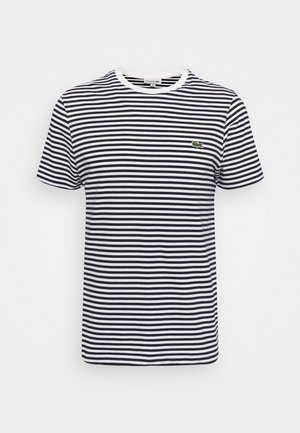 T-shirts basic - white/navy blue