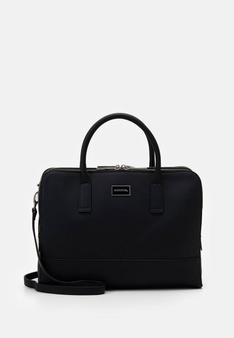 comma - PURE ELEGANCE HANDBAG  - Handbag - black