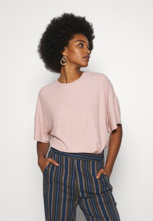 T-shirts basic - pale mauve