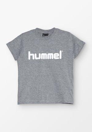 KIDS LOGO - T-shirts print - grey melange