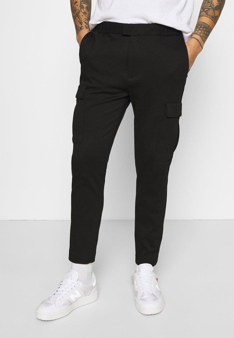 Topman - PONTE - Reisitaskuhousut - black