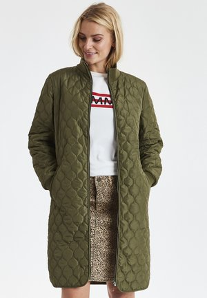 FRHAQUILT  - Winter coat - light green