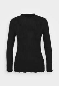 TRUTTE - Long sleeved top - black