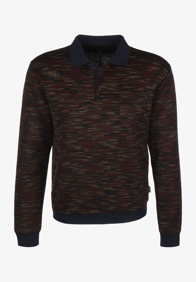 CYPHER - Poloshirt - navy/maroon