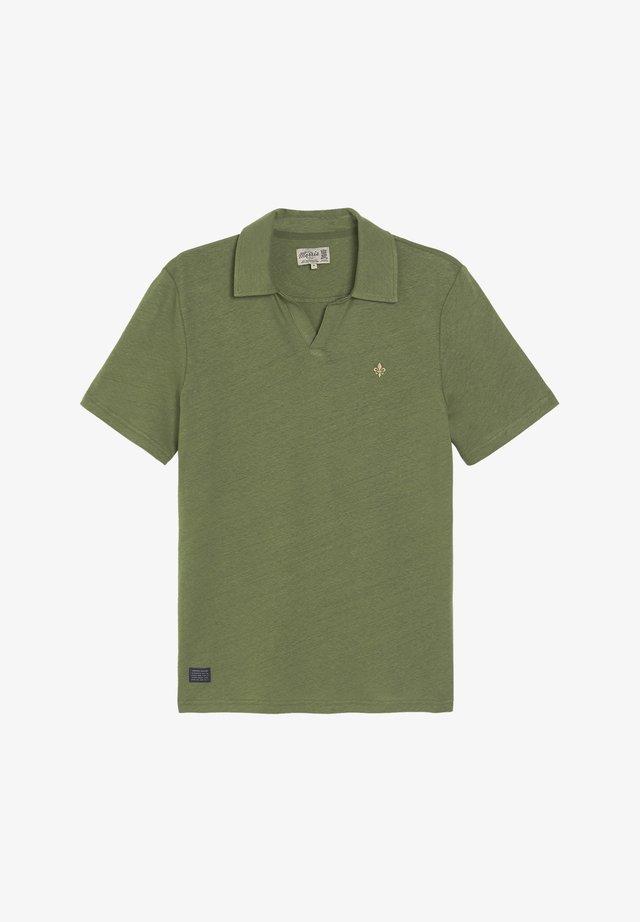 Poloshirts - olive