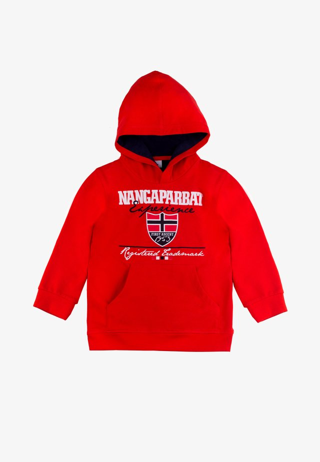 NANGAPARBAT - Sweatshirt - light red