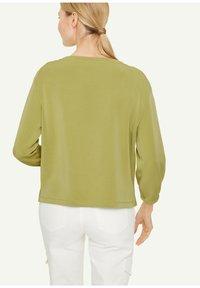 comma - Sweatshirt - spring green - 1