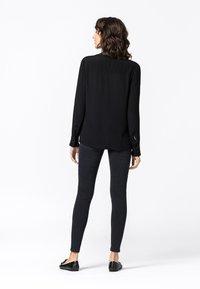 HALLHUBER - Button-down blouse - schwarz - 2
