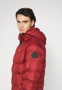 G-Star - WHISTLER PUFFER - Winter jacket - dry red - 4